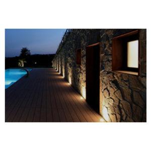 Luminarias de exterior - embutidos